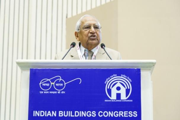 Shri O.P. Goel Addressing the Gathering